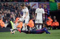 Центрхав Реала пропустит игры с Аяксом, Атлетико и Барселоной