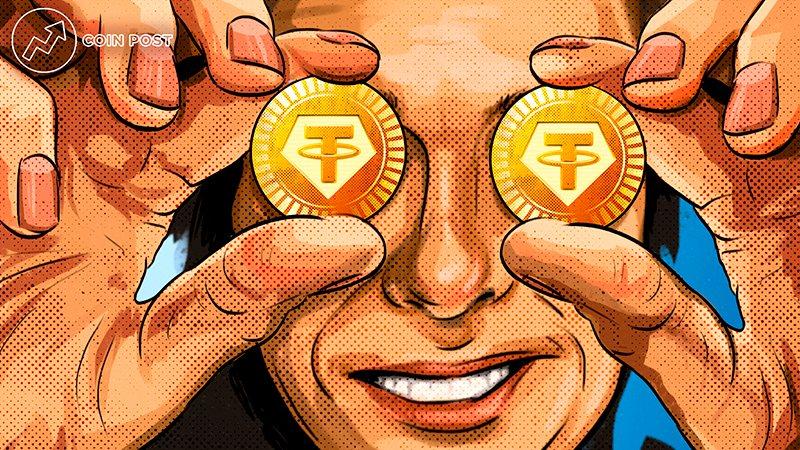 Стейблкоин Tether вышел на третью строку CoinMarketCap с капитализацией $60 млрд на фоне падения криптовалют