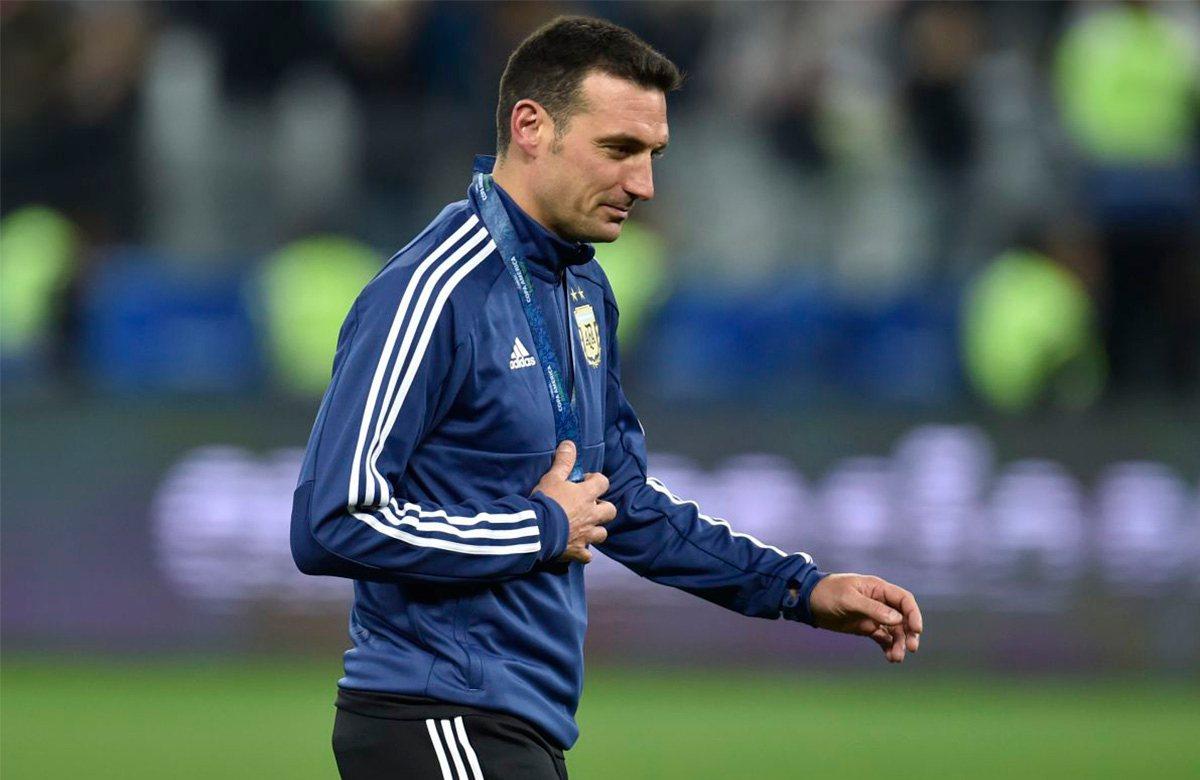 Скалони останется у руля сборной Аргентины