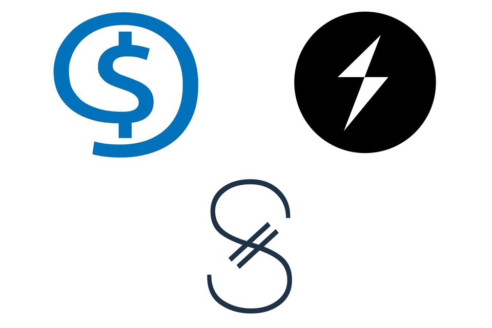Варианты символа сатоши