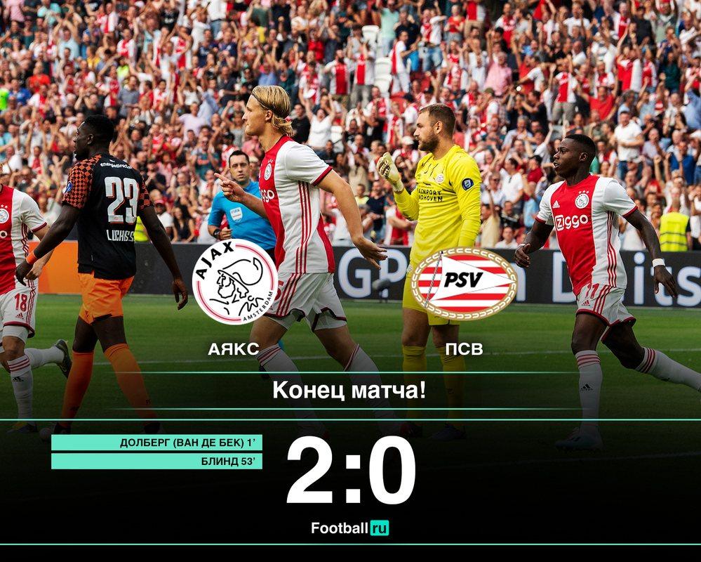 Аякс завоевал Суперкубок Голландии