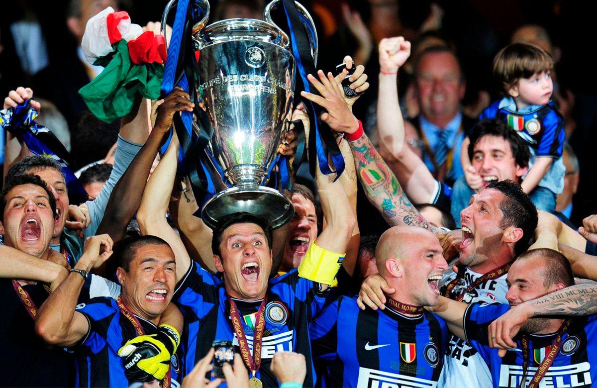 В 2010 году Интер был лучшей командой Европы