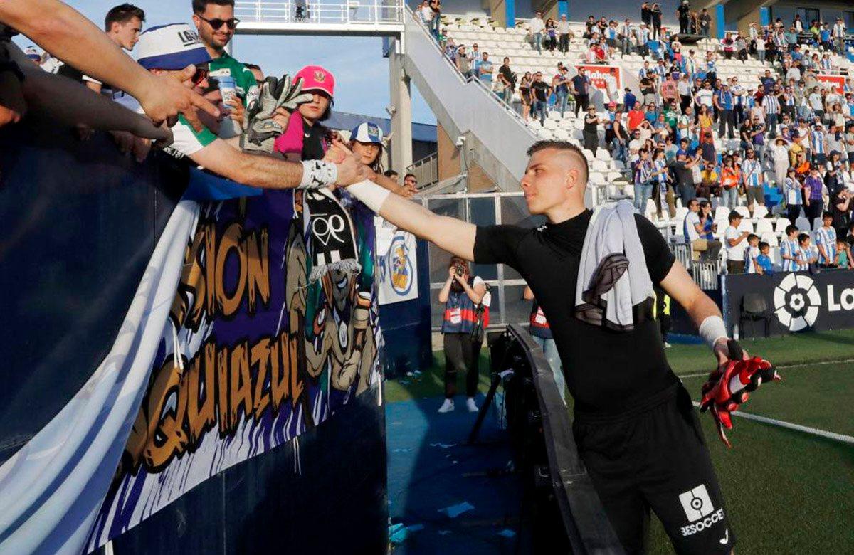 Андрей Лунин получил бесценный опыт в Ла Лиге