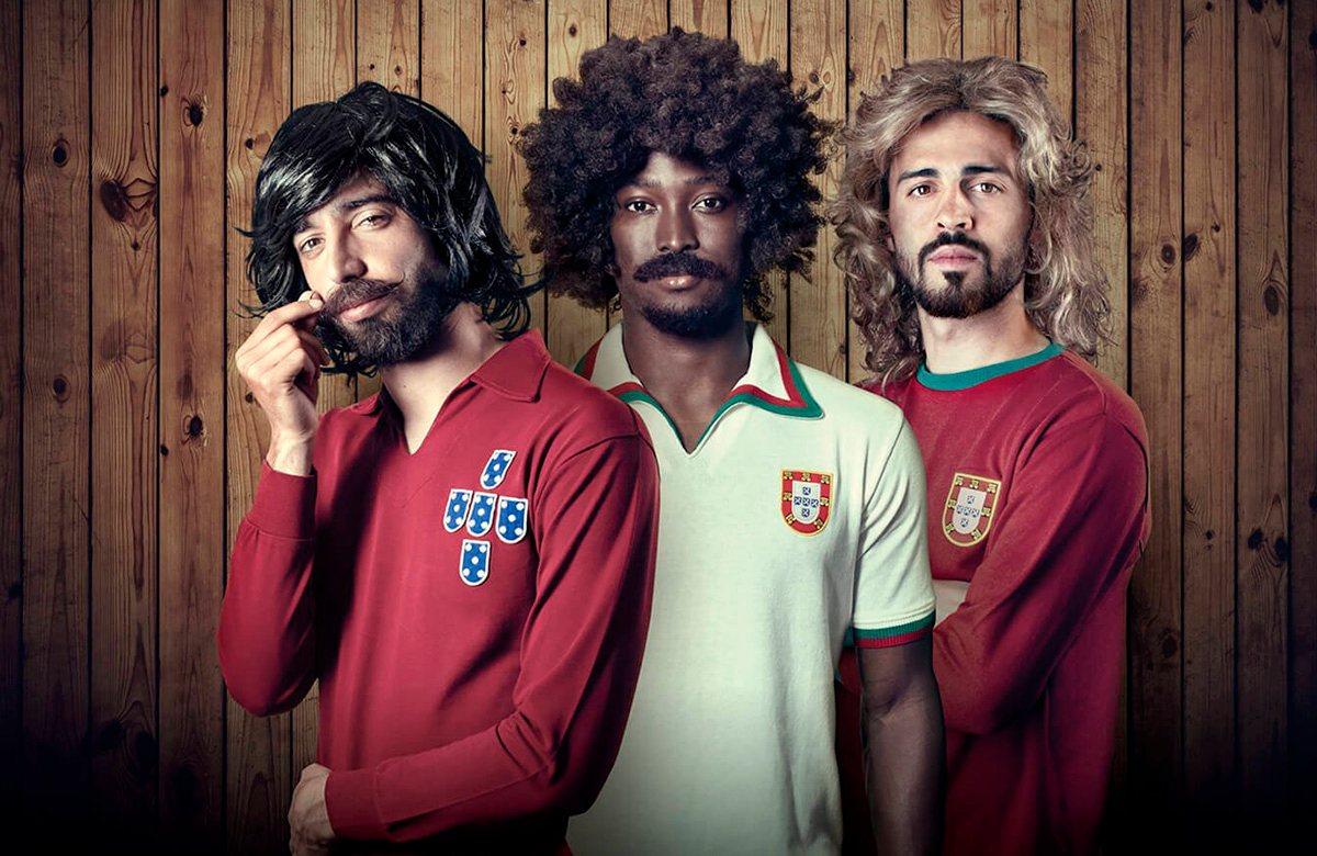 Португалия выпустила комплект ретро-футболок