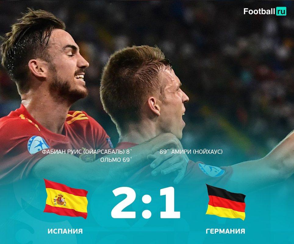 Испания - Германия 2:1