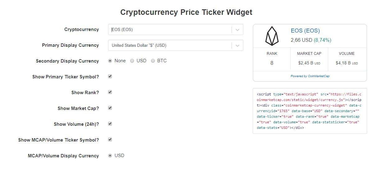 bitcointalk coinmarketcap)