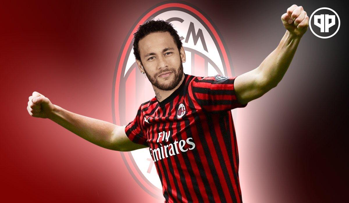 Милан пока что может лишь мечтать о Неймаре