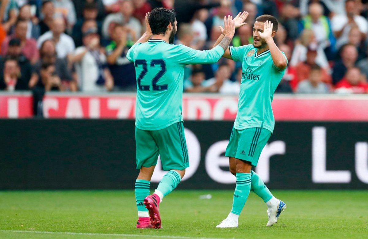 Азар получил седьмой номер в Реале