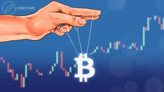 Манипуляция курсом биткоина