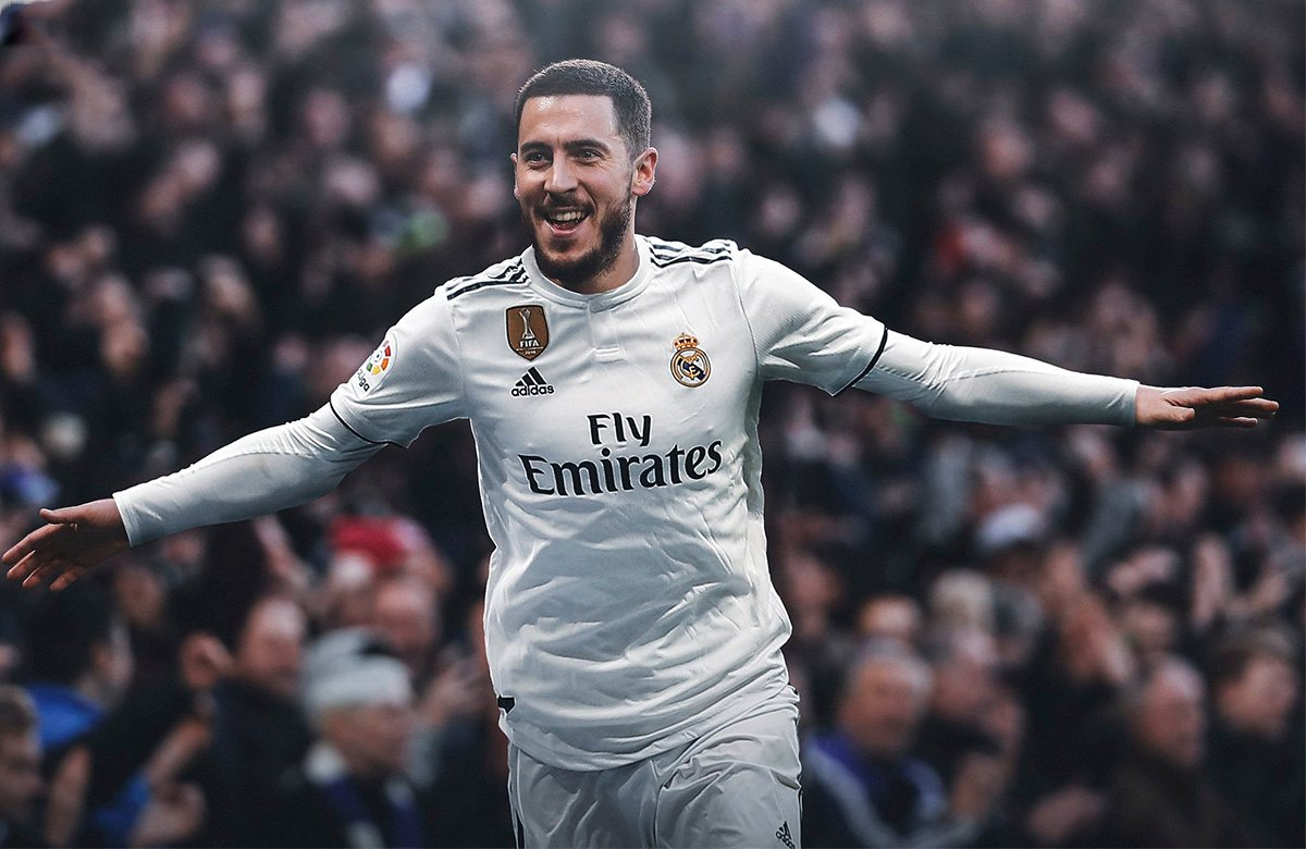 Азар - игрок Реала