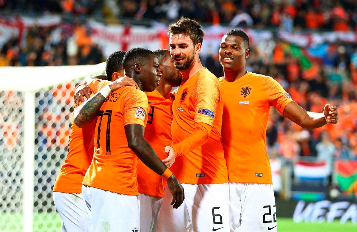 Голландия уже прошла в финал Лиги наций