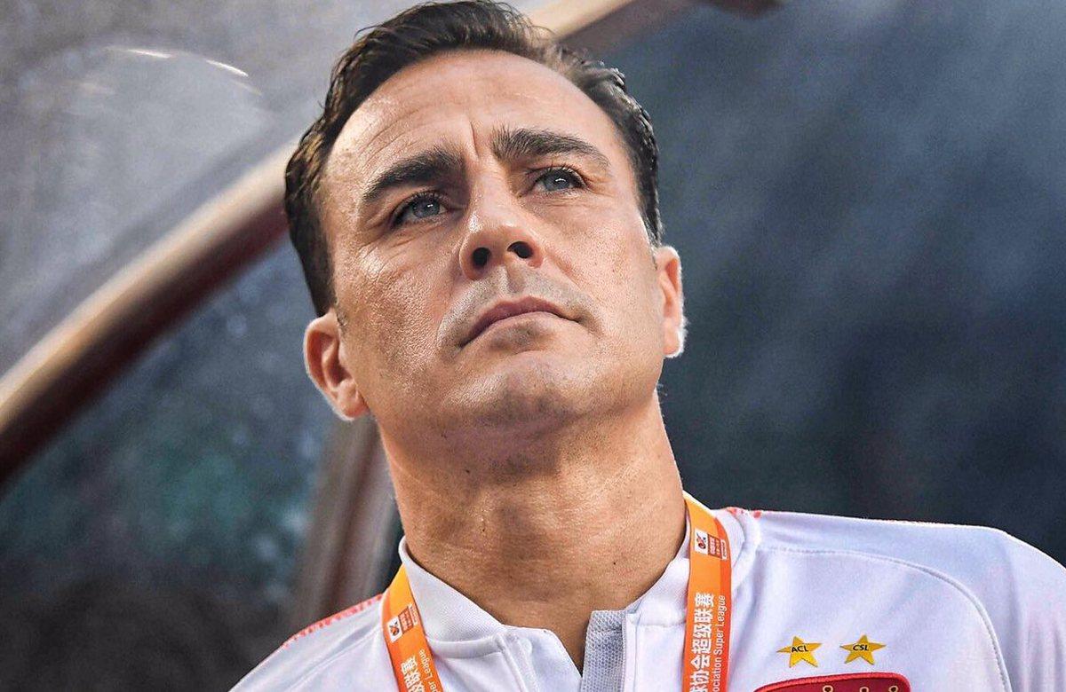 Каннаваро покинул пост главного тренера сборной Китая