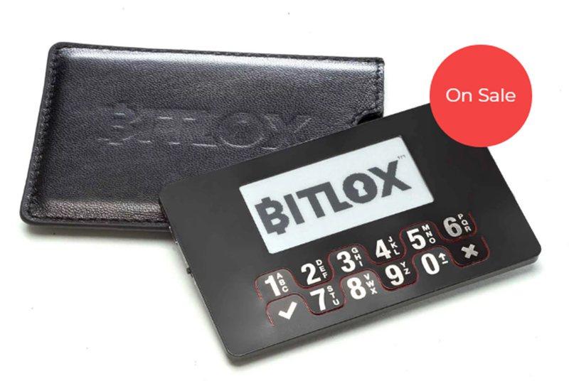 Внешний вид аппаратного кошелька Bitlox