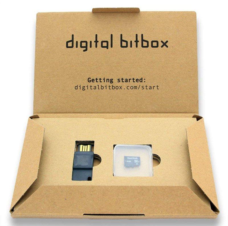 Аппаратный кошелек Digital BitBox в фирменной коробке