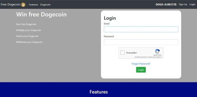 Кран криптовалют Free-dogecoin