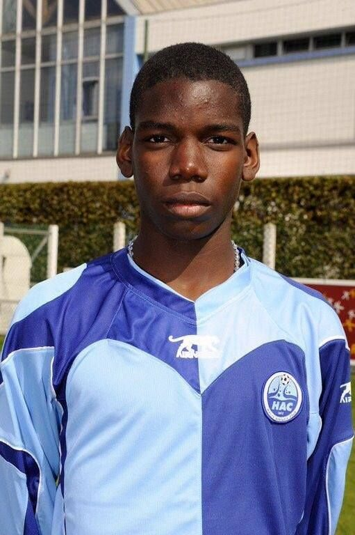 14-летний Погба в Гавре