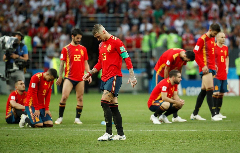 Испания после поражения России