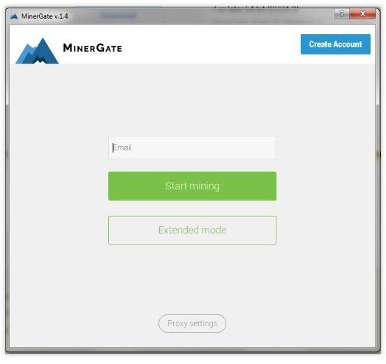 Программа на майнинга от MinerGate
