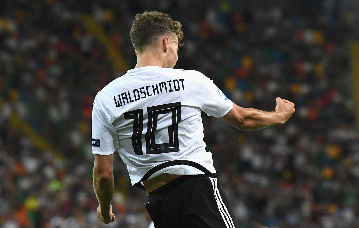 Вальдшмидт - главная звезда сборной Германии