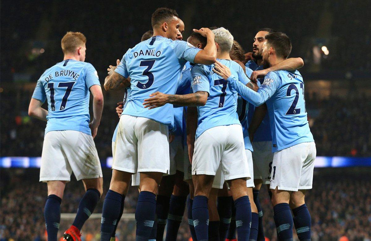 Сейчас у Манчестер Сити контракт с Nike