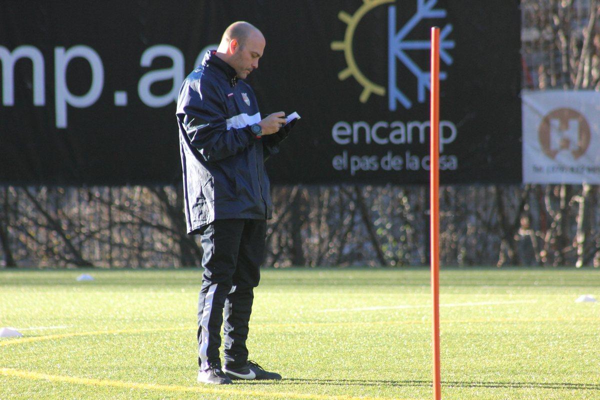 Габри Гарсия во главе ФК Андорра