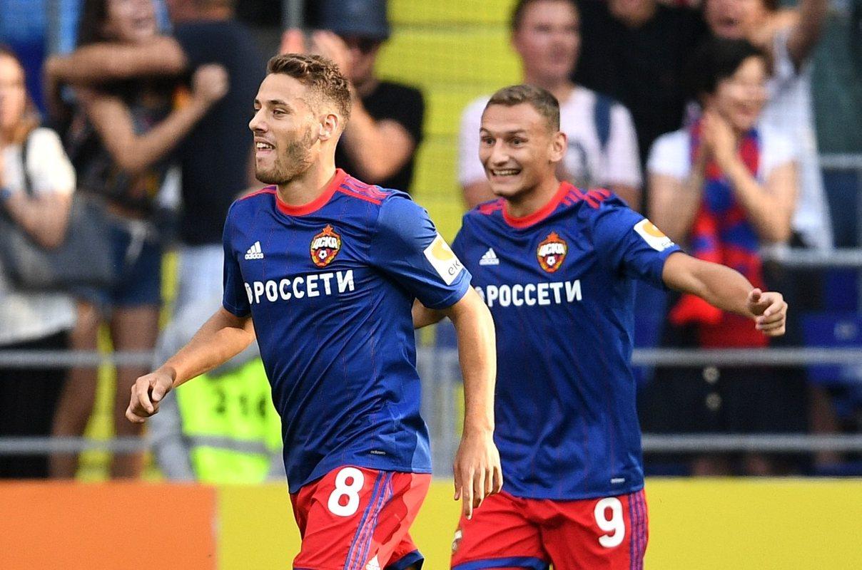 Влашич и Чалов - лидеры ЦСКА