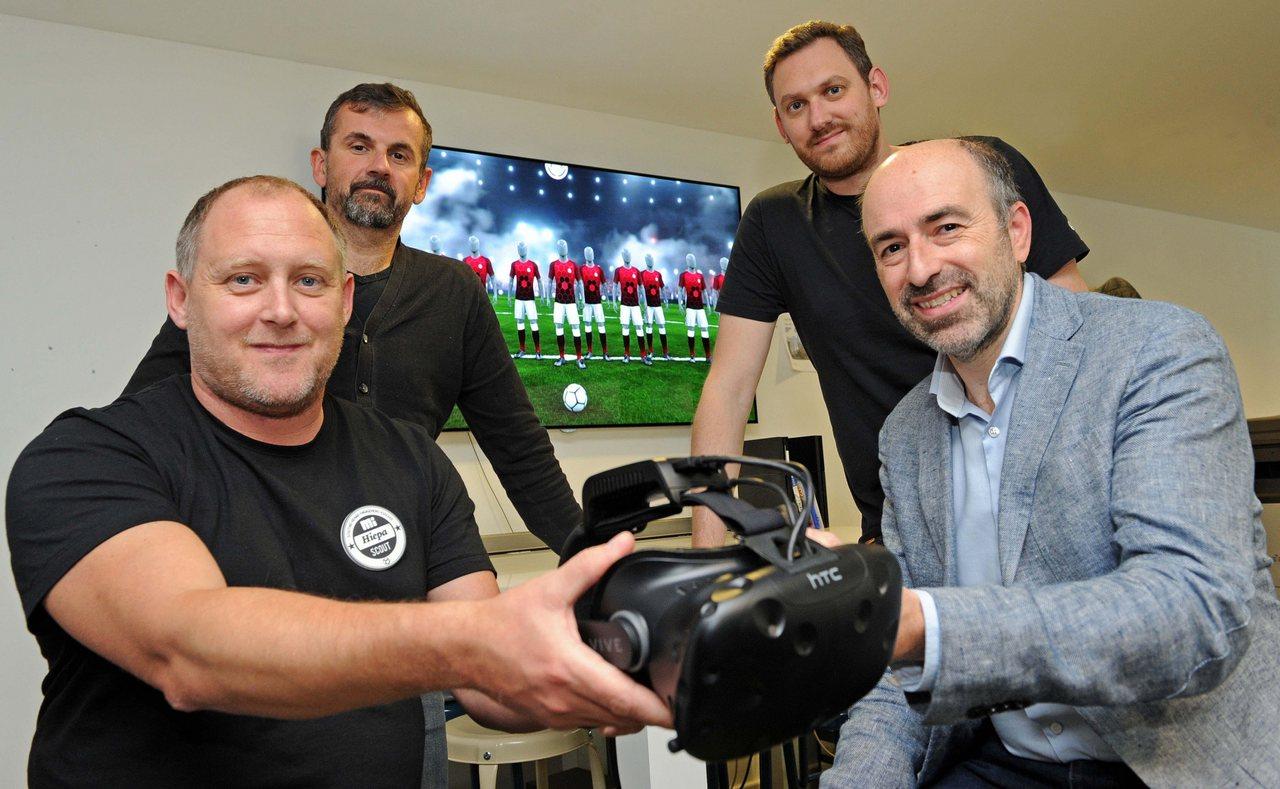 VR система, используемая в Манчестер Юнайтед
