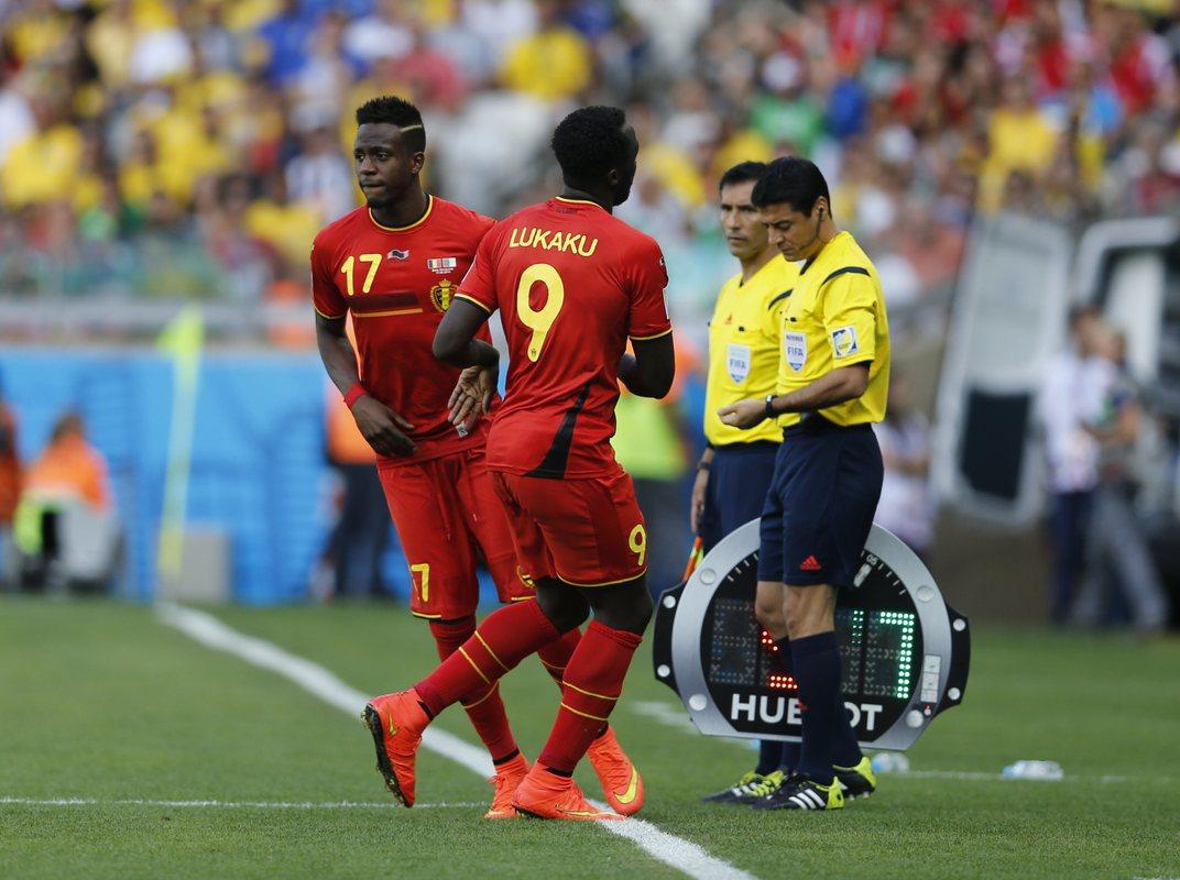 Ориги дебютировал за сборную Бельгии на ЧМ-2014