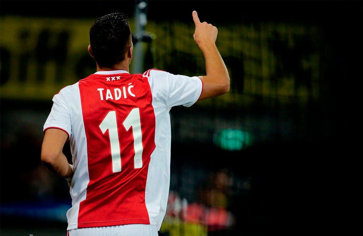Тадич - новый капитан Аякса