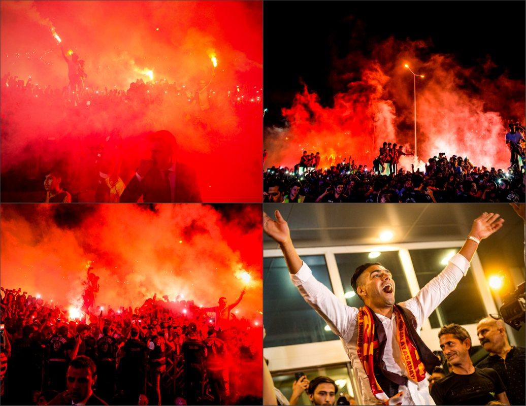 25 000 тысяч фанов встретили Радамеля Фалькао