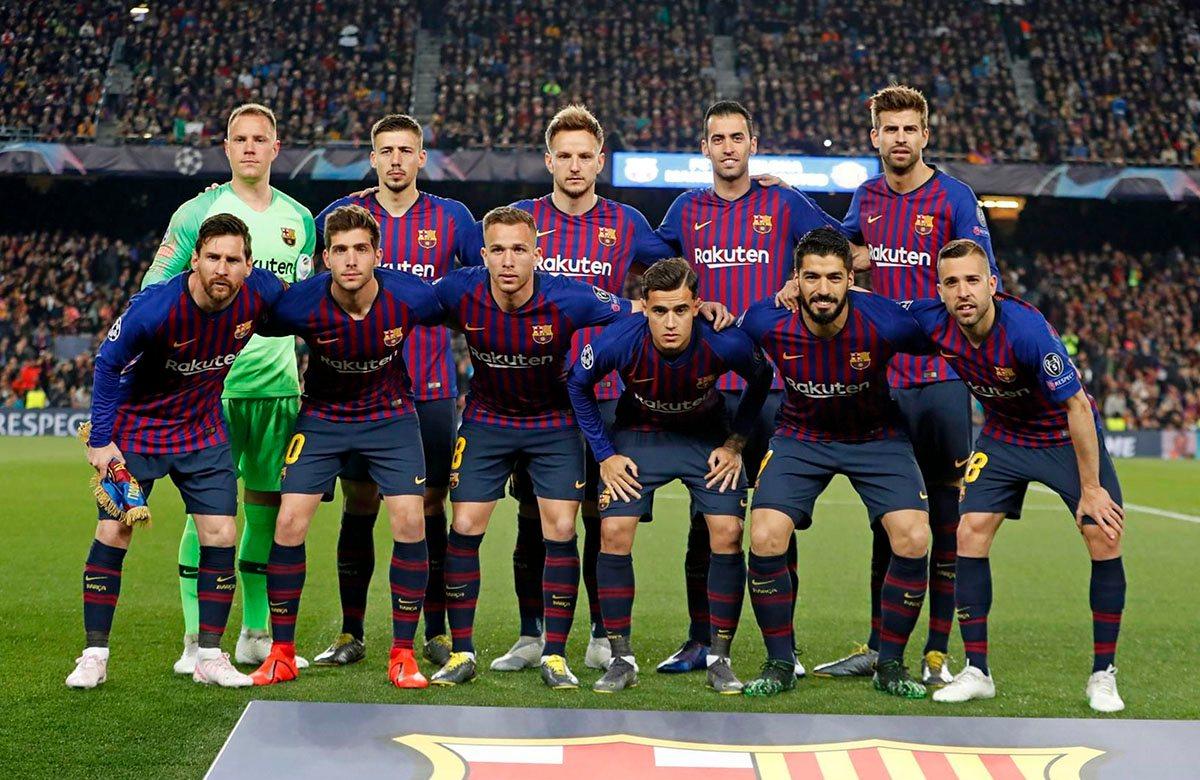 Барселона перед матчем с МЮ