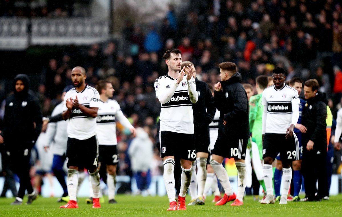 Фулхэм после поражения от Челси