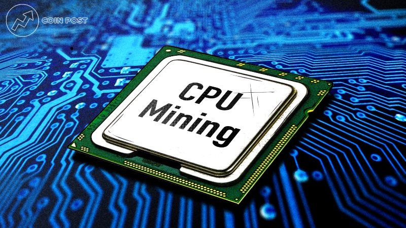 Майнинг на процессоре