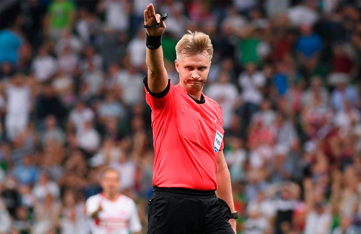 Ласточки назначен главным судьей на финал Кубка России