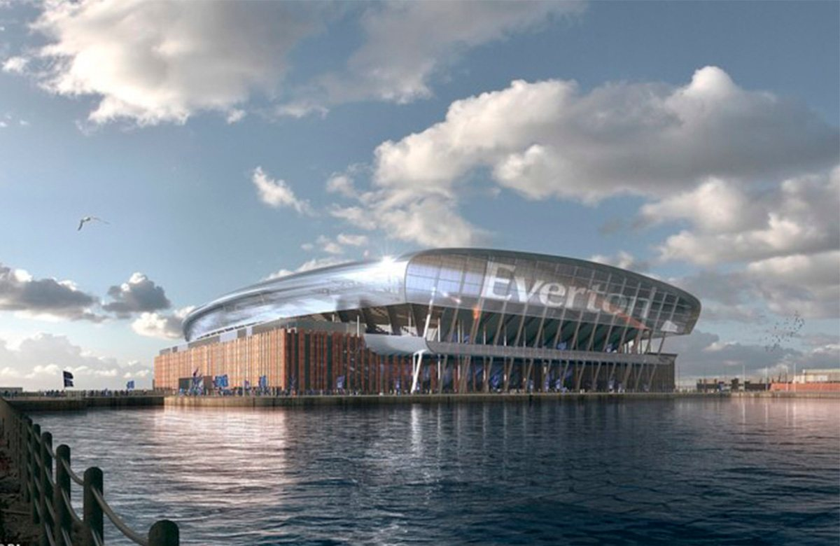 Новый стадион Эвертона