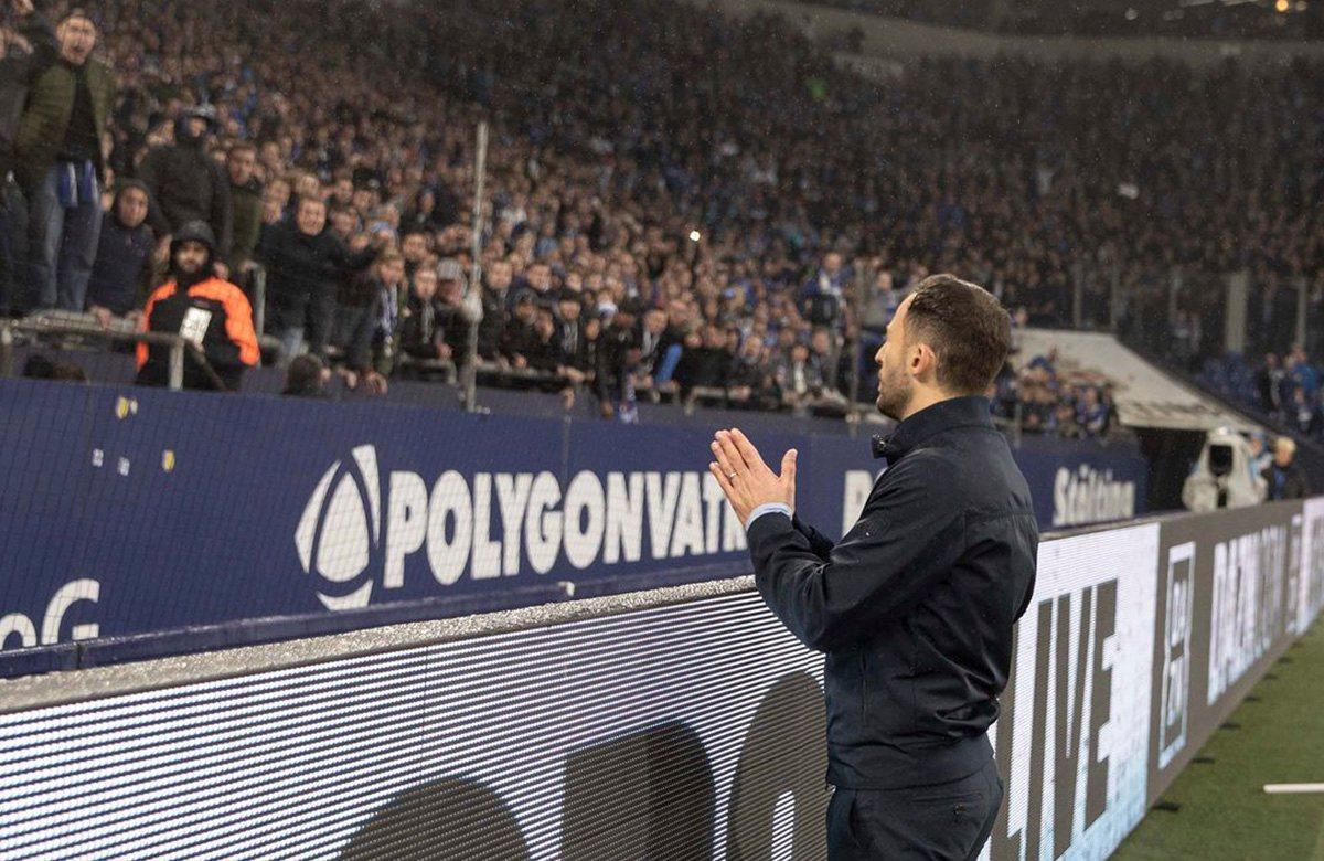 Доменико Тедеско извиняется перед фанатами, Шальке