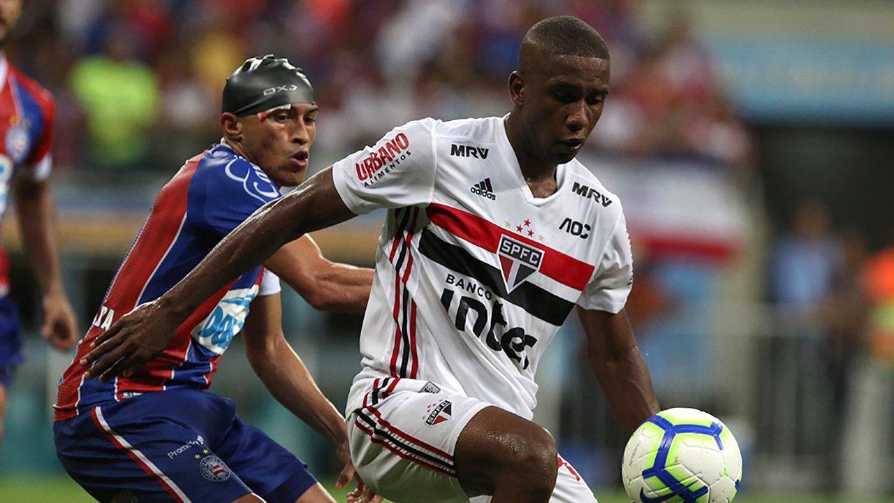 Жонас Торо ворвался в основу Сан-Паулу