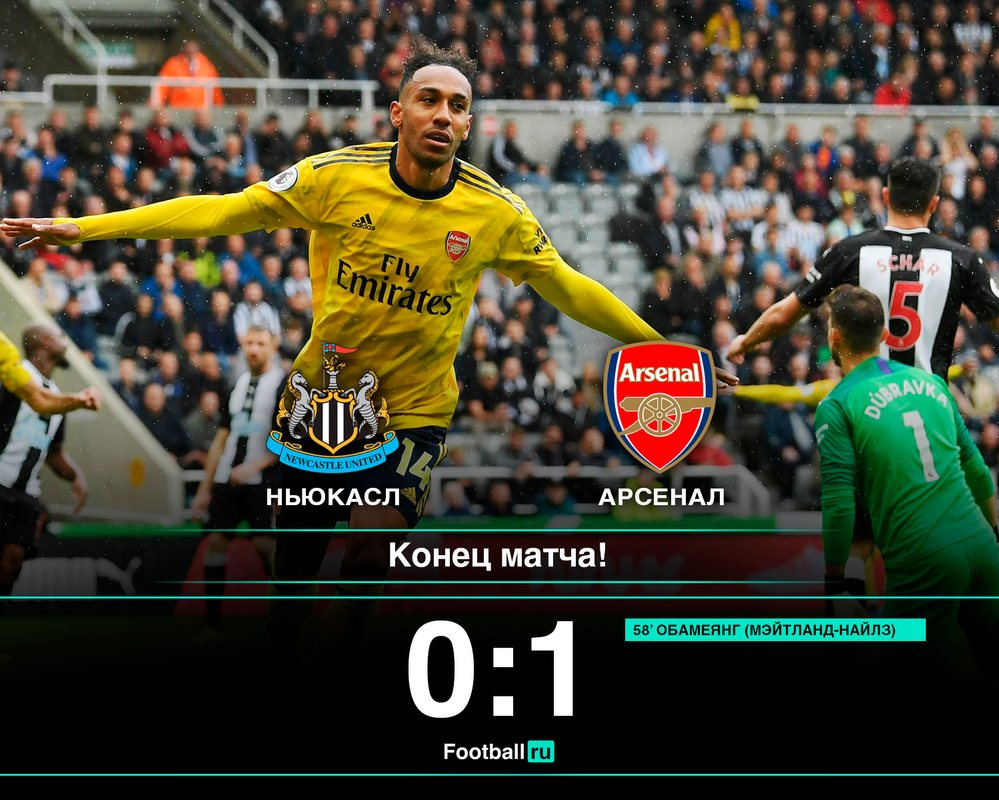 Арсенал обыграл Ньюкасл
