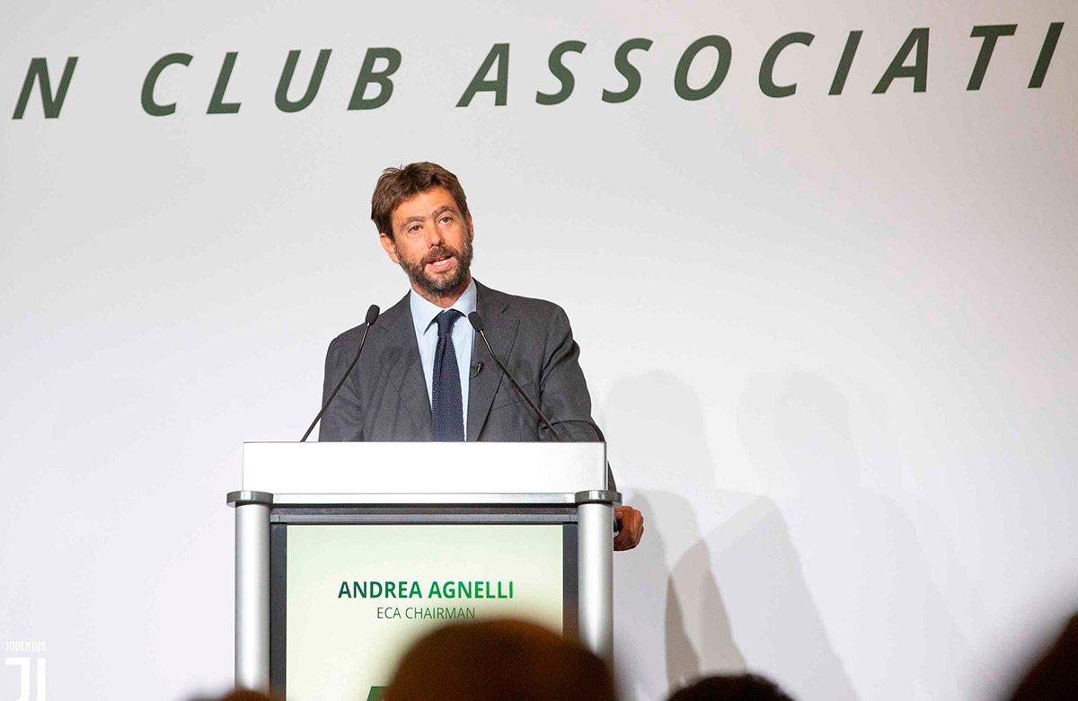 Андреа Аньелли снова выбран президентом Ассоциации европейских клубов