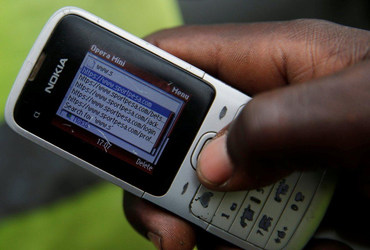 Африканцы помешаны на ставках