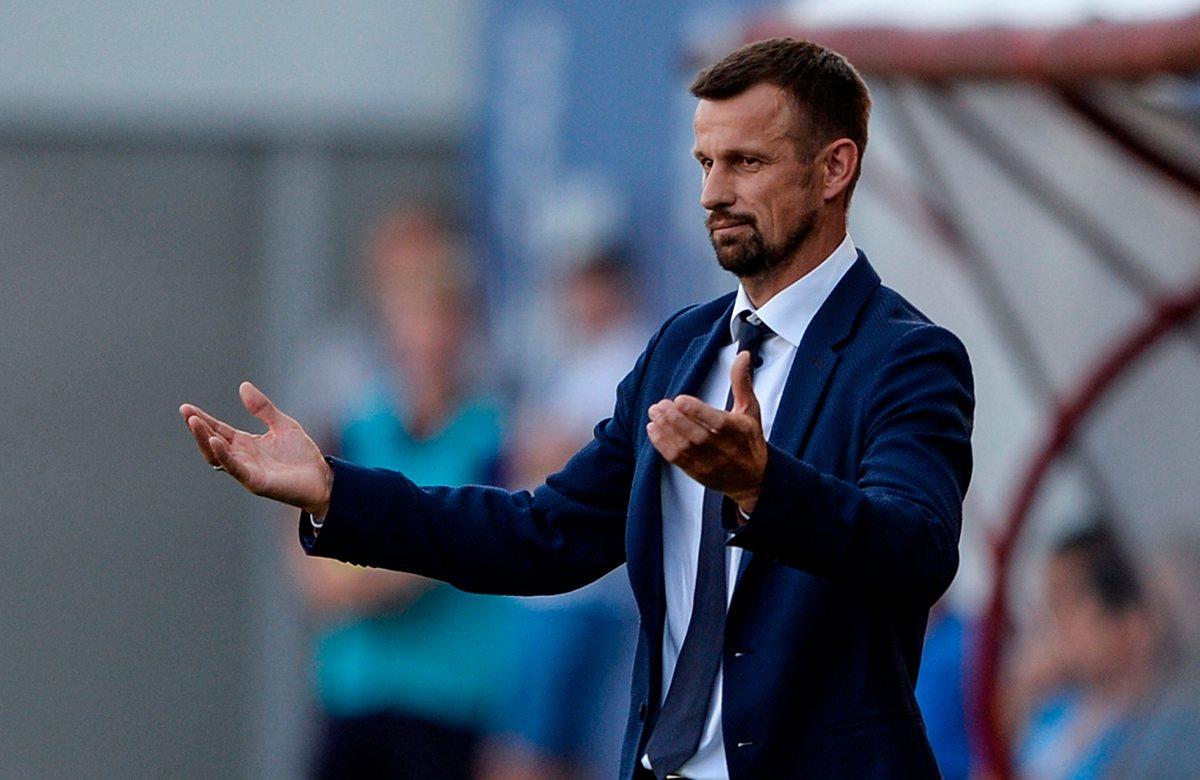 Сергей Семак, главный тренер Зенита