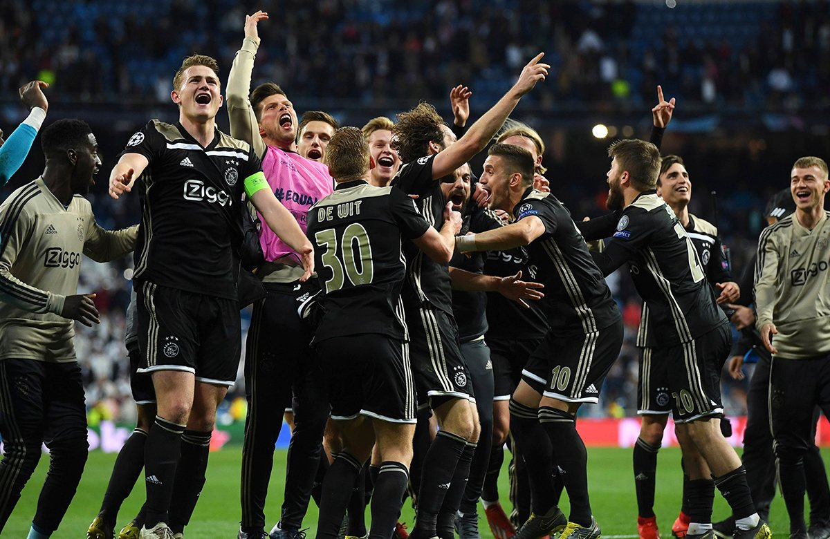 Триумф Аякса на поле Реала