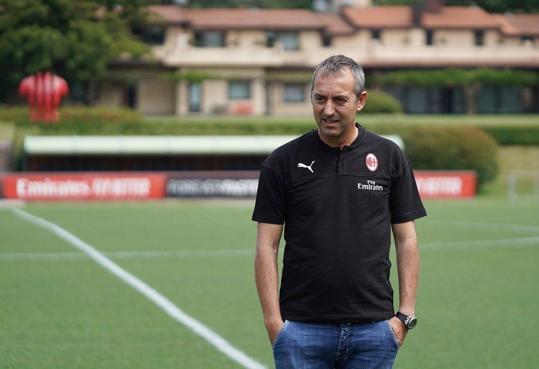 Джампаоло ставит игру Милану