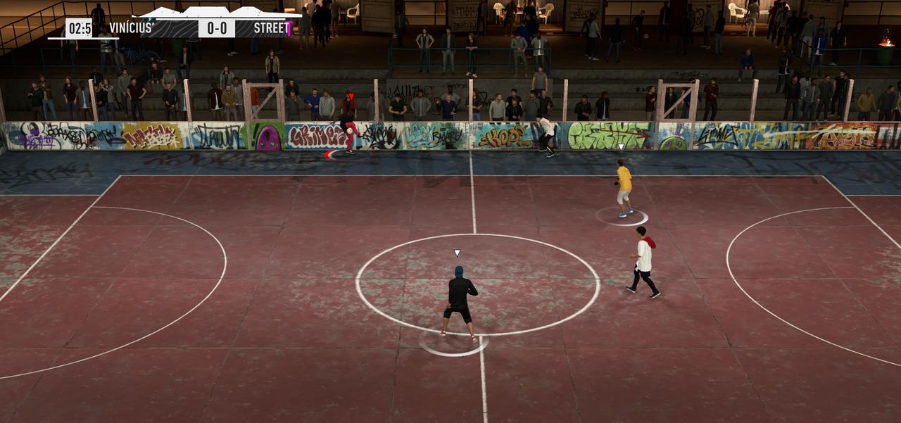 Матч в режиме Volta в FIFA 20