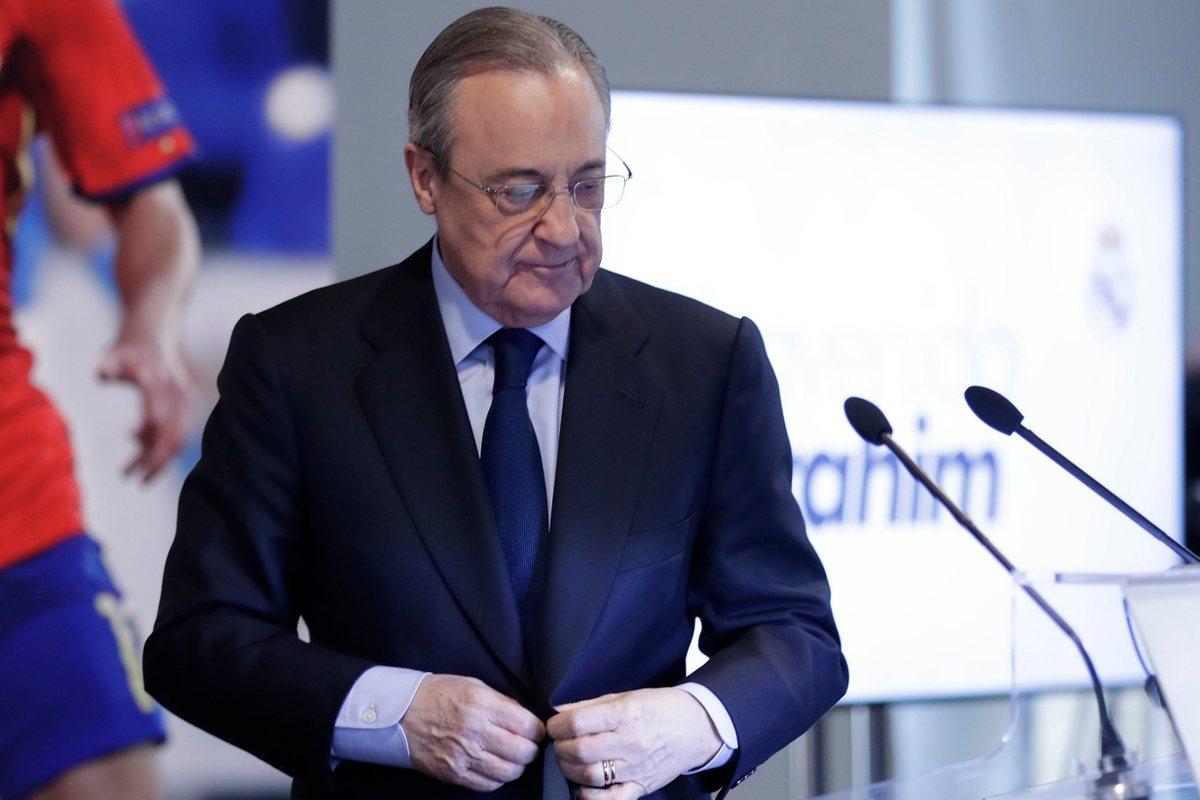 Флорентино Перес, президент Реала