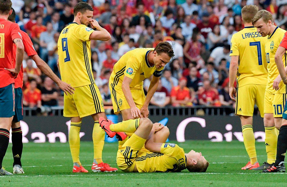 Виктор Классно получил серьезную травму