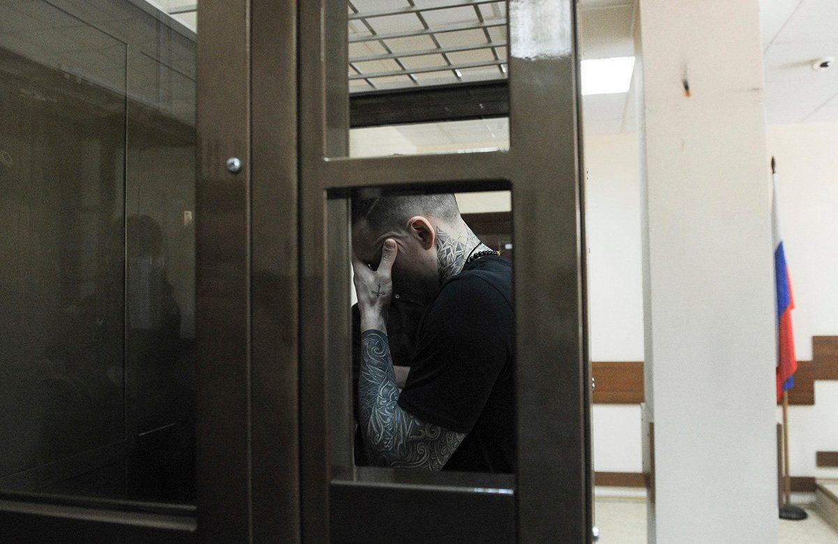 Павел Мамаев в зале суда