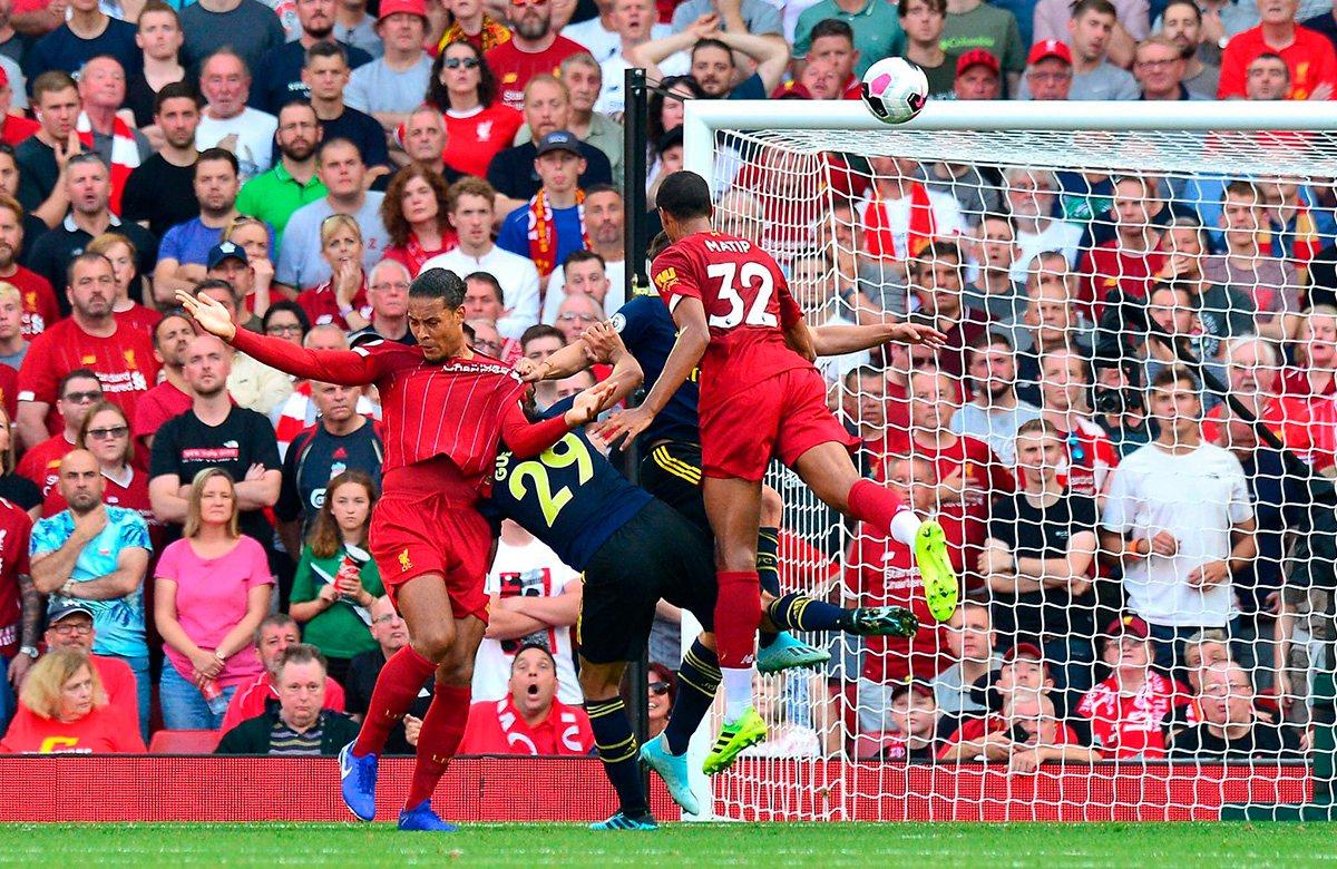 Арсенал уступил Ливерпулю, 1:3