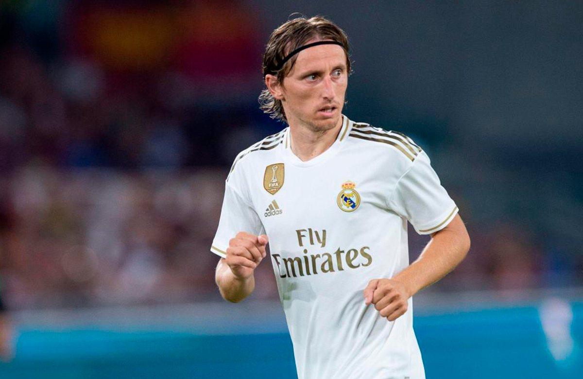 Лука Модрич вернулся в Реал с травмой