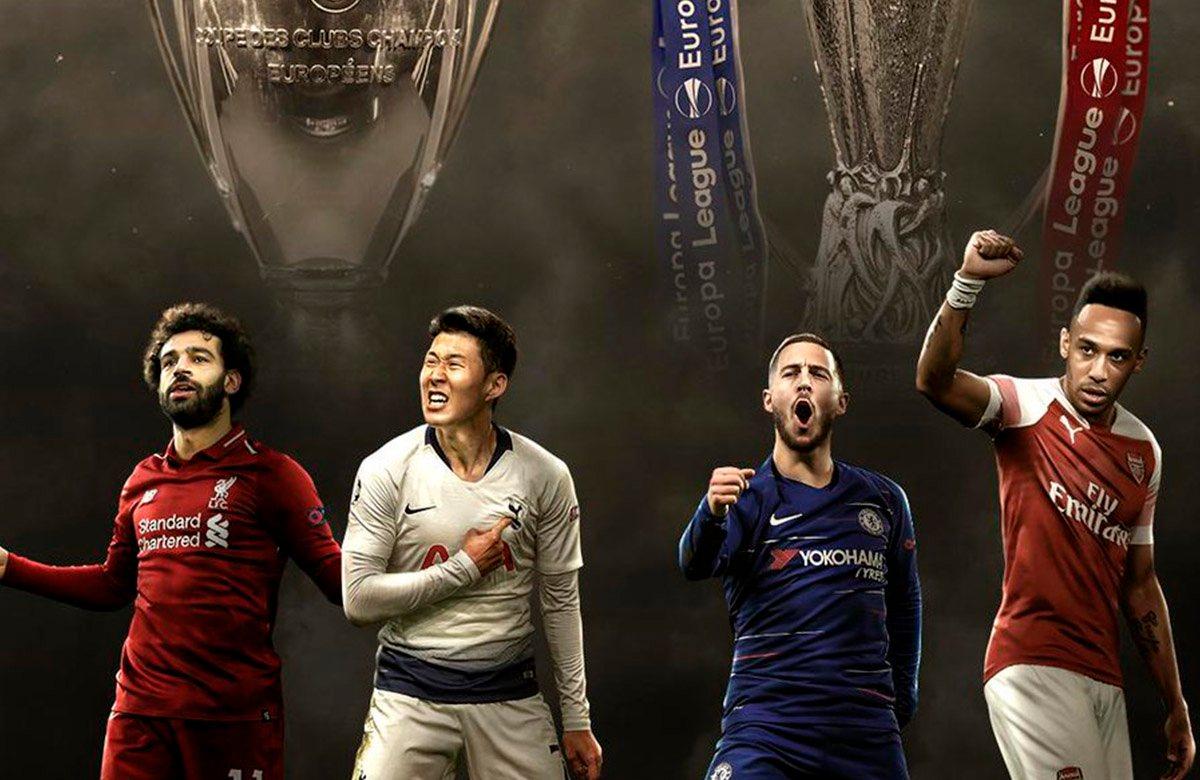 Английские клубы рулят в Европе в этом сезоне